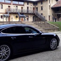 Con Porsche Panamera 4S E-Hybrid attraverso la Valmarina