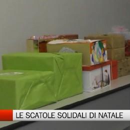 Solidarietà, le scatole di Natale della Val Seriana