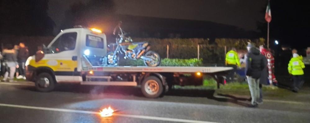 Bonate Sopra, schianto in moto Muore un giovane di 20 anni