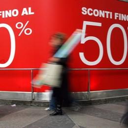 Commercio, incognita gennaio A rischio 5 mila posti di lavoro