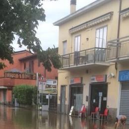 Astino, al lavoro sul canale scaricatore con una vasca per proteggere il quartiere