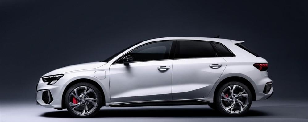 Audi A3, cinque motori tra cui l'elettrico ibrido