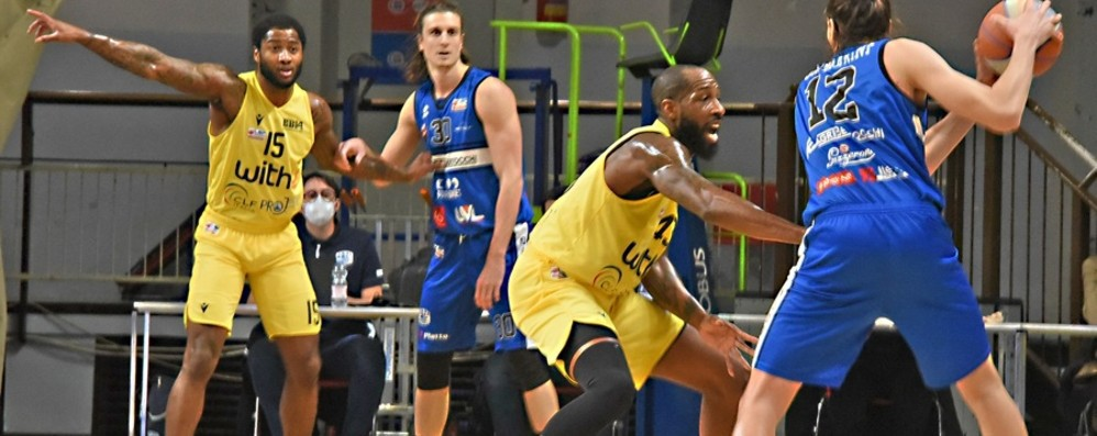 Basket A2, Bergamo perde ancora Sette sconfitte consecutive, è crisi nera
