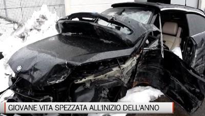 Bergamo - Incidente mortale in via Carducci