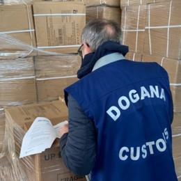 Bergamo, sdoganamento rapido per 1,8 milioni di mascherine