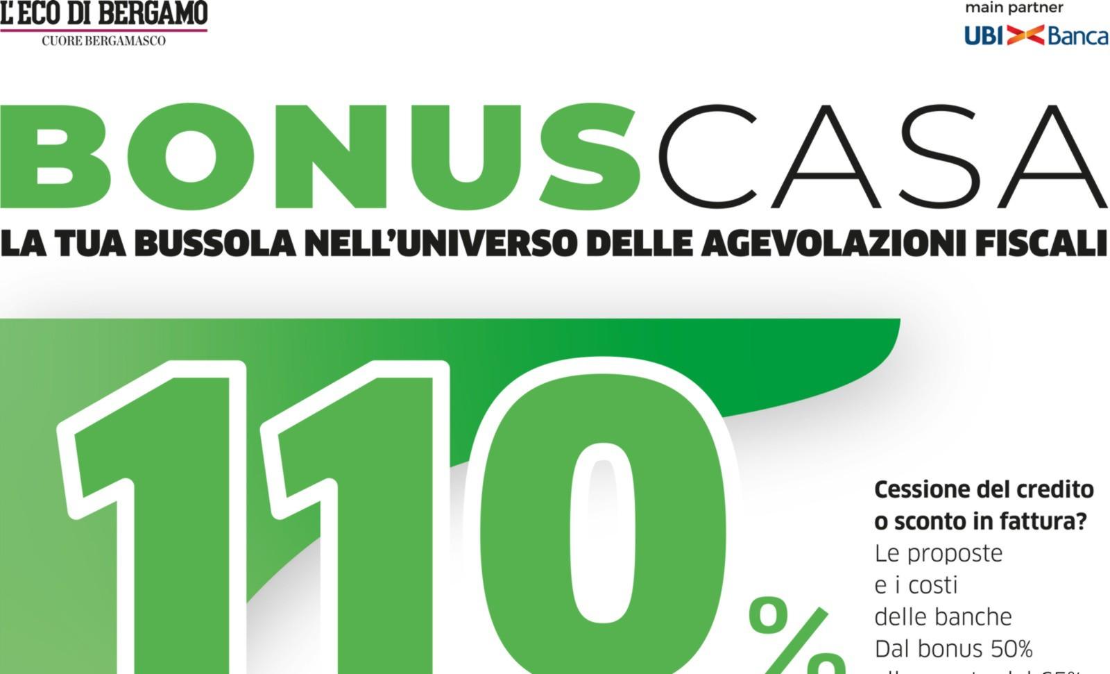 Bonus 110%, oggi l'inserto con L'Eco con tutte le novità del 2021