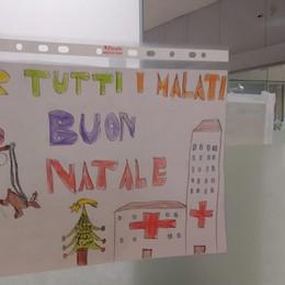 Covid, le letterine di Natale da Grassobbio I bimbi confortano i ricoverati in ospedale