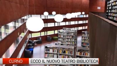 Curno: ecco come sarà la nuova incredibile biblioteca. Qui si incrocia il teatro con la letteratura e l'arte