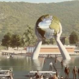 Dopo Christo anche Lorenzo Quinn  Sul lago arriveranno le sue «mani» - Video