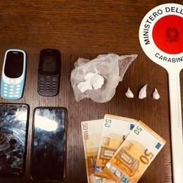 Droga nascosta negli slip e nei calzini Un arresto e una denuncia Telgate