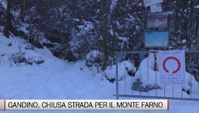 Gandino, il Comune ordina la chiusura della strada per Farno e Valpiana