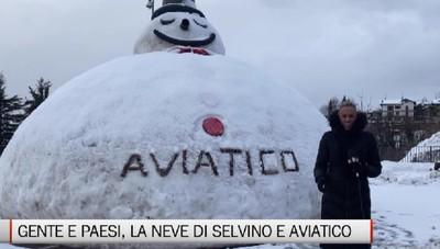 Gente e Paesi, sulla neve dell'altopiano di Selvino e Aviatico