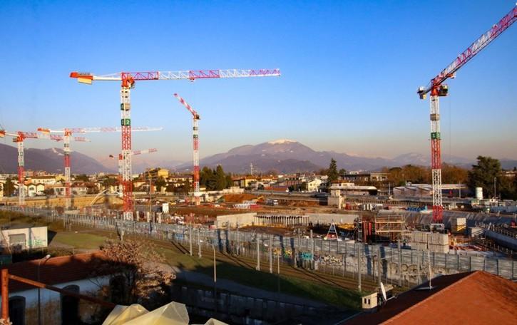 Il rondò delle Valli diventa a tre livelli Sovrappasso dalla Val Seriana verso l'A4