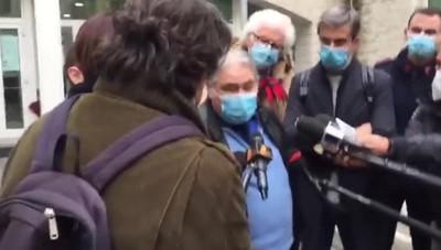 Intervista a Antonio Tizzani dopo la sentenza di assoluzione