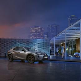 Lexus UX Hybrid 4 allestimenti per il 2021