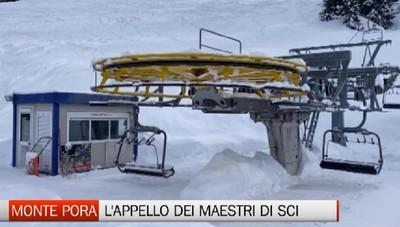 Monte Pora, l'appello dei maestri di sci