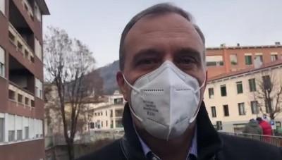 Morzenti Pellegrini al V-day ad Alzano