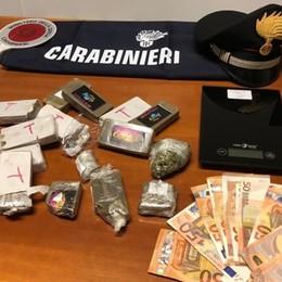 Oltre un chilo di droga in auto Fermato e arrestato 27enne a Valbrembo