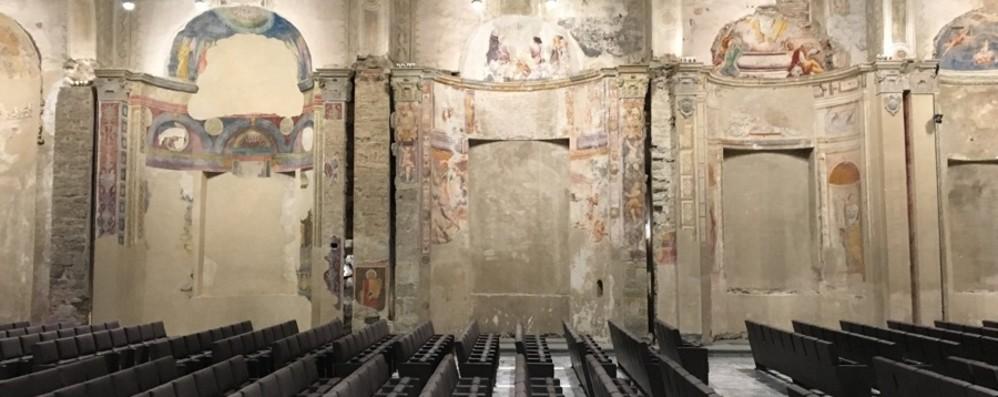 مرمت و بازسازی Sant'Agostino کار تا پایان آغاز می شود
