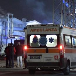 Salvi dopo una scarica a Zingonia Si aggravano, trasferiti a Milano