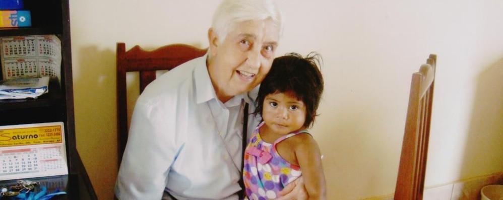 Villa d'Almè piange suor Palma «Visse in Brasile per aiutare gli ultimi»