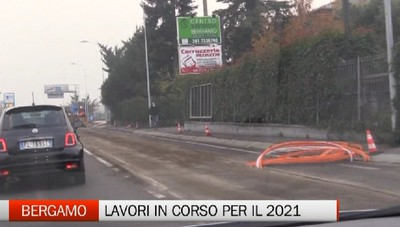Bergamo: in arrivo lavori di asfaltatura per 1 milione