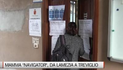 Mamma navigator, la storia di Valentina dalla calabria a Treviglio