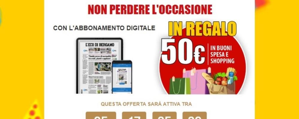 Abbonamento digitale a L'Eco di Bergamo La promozione ...