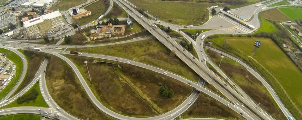 La rivoluzione dall'A4 a Pontesecco Quattro cantieri: 45 milioni di euro