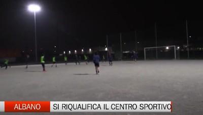 Albano Sant'Alessandro, lavori al centro sportivo