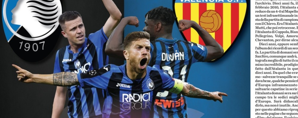 Atalanta, anche «L'Eco» scende in campo Martedì in edicola l'inserto Champions