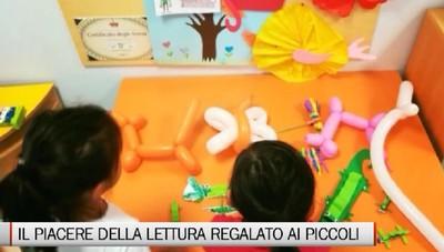 Il piacere della lettura regalato ai bambini