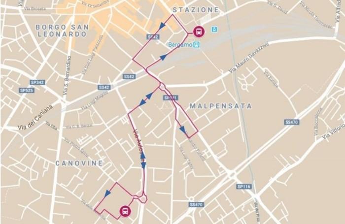 Ecco la mappa della linea Mk