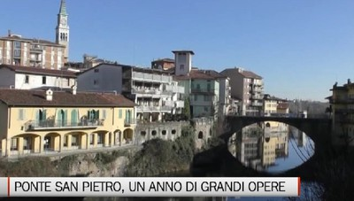 Ponte San Pietro, un anno di grandi opere