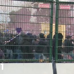 Scontri Atalanta-Fiorentina: 4 Daspo Stop da tre a sei anni per i tifosi viola