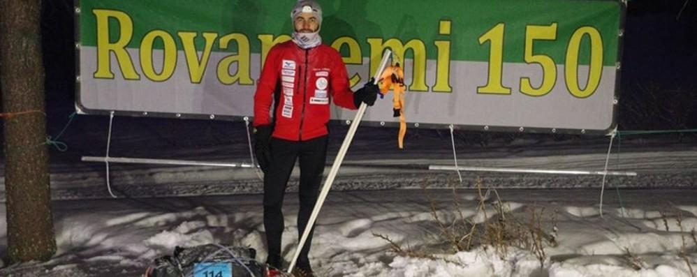 150 km nel paese di Babbo Natale Il bergamasco Capponi vince a Rovaniemi