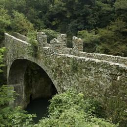 Cinque ponti più uno (scomparso) in provincia di Bergamo