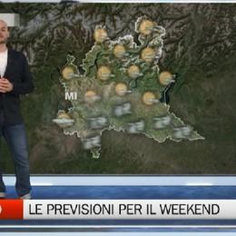 Meteo - Le previsioni per il weekend