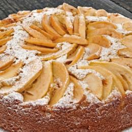 Torta di mele, mascarpone e cioccolato fondente