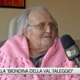 Addio alla partigiana Pierina Vitali, la biondina della Val Taleggio