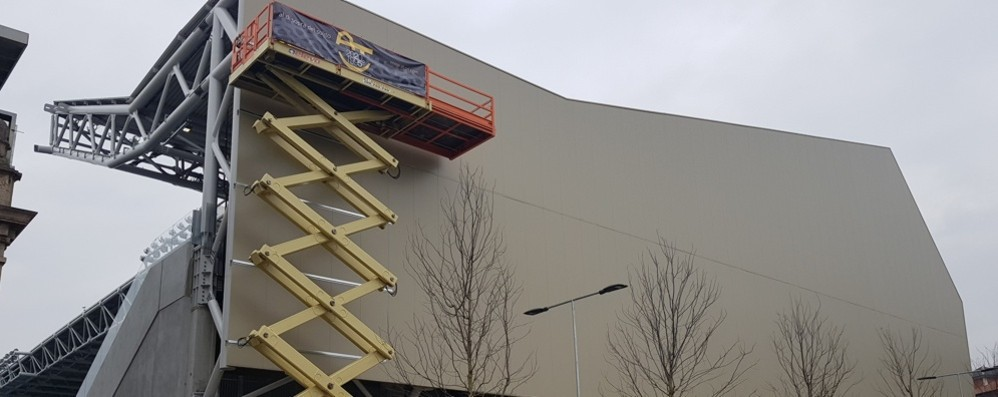 Stadio, restyling per la Ubi In arrivo i pannelli e skybox