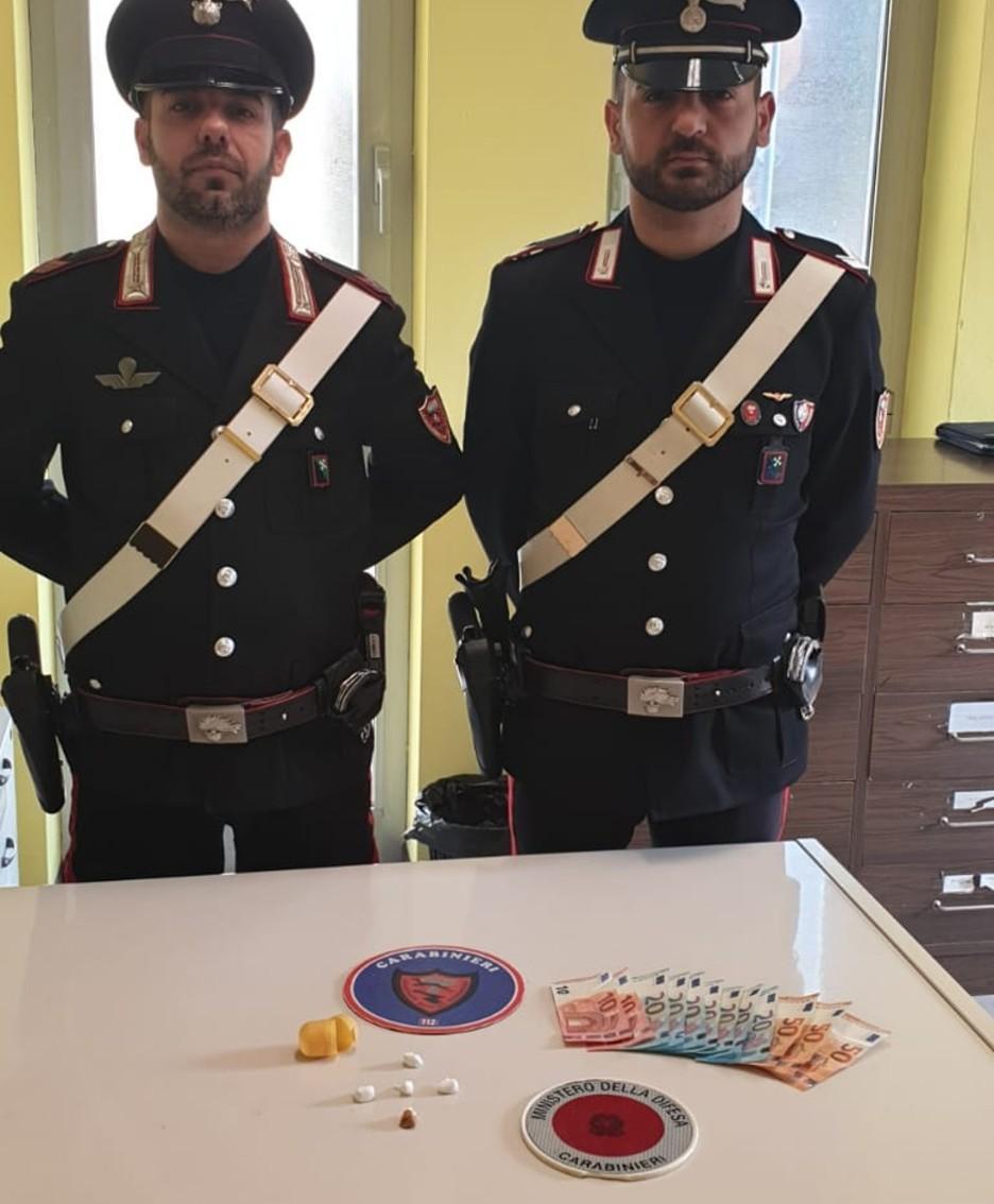 L'operazione antidroga dei Carabinieri