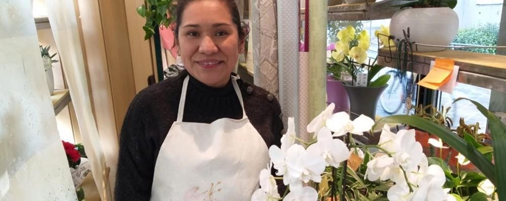 Il chiosco di fiori alle Grazie Dopo il «Barba» ora c'è Maura