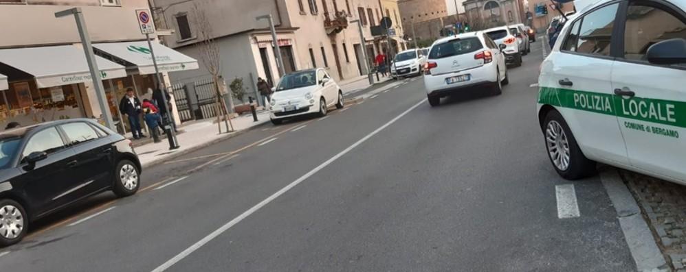 Investita in piazza Risorgimento Grave una bambina di 8 anni