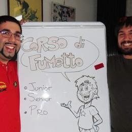 Fumetti in circolo Corsi al via a Bergamo