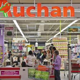 Auchan di Curno, nessun esubero Settimana di chiusura per il cambio nome