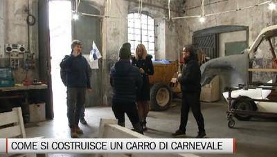 Gente e Paesi, la costruzione di un carro allegorico a Crespi d'Adda