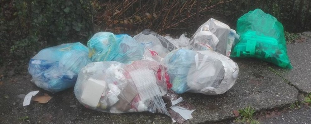 Montello, butta i rifiuti ma lascia il nome Cittadino multato per la quinta volta