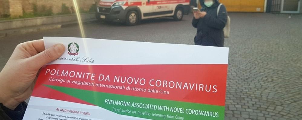 Coronavirus, caso sospetto a Bergamo Il presunto paziente zero: «Non ho niente»