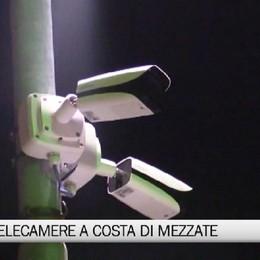 Costa di Mezzate, nuove telecamere per la videosorveglianza